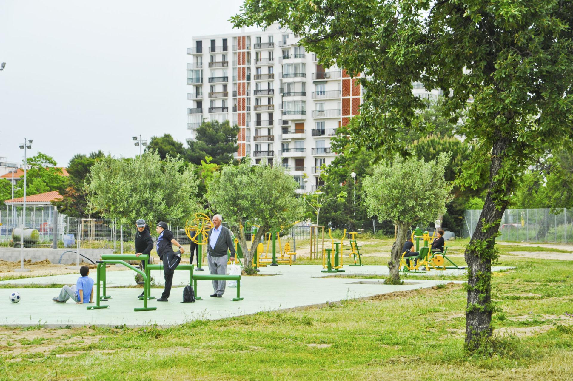 parcours fitness en ville