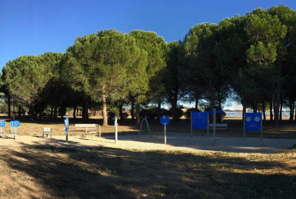 fitness bleu au lac