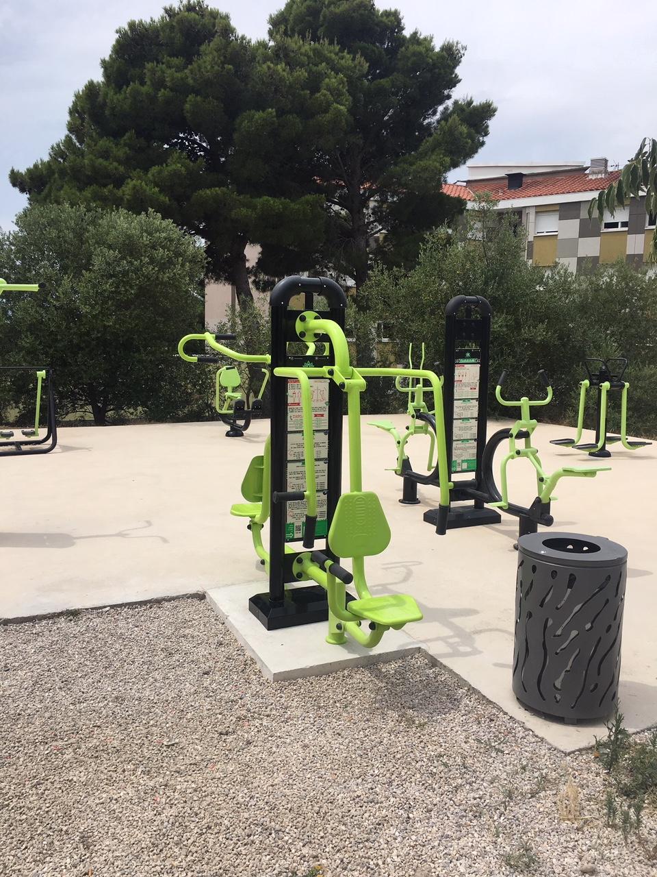 machine fitness verte