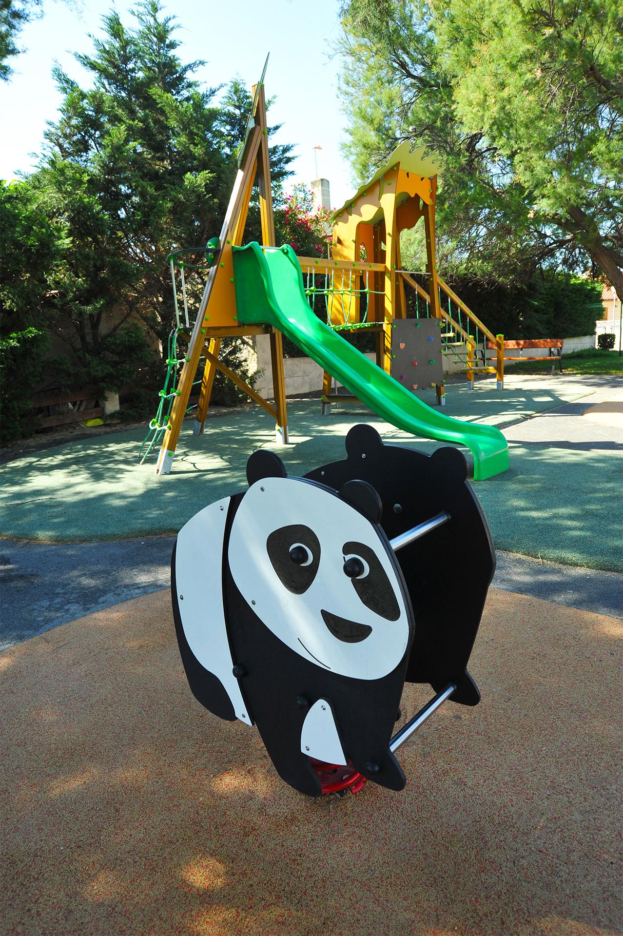 aire de jeux panda