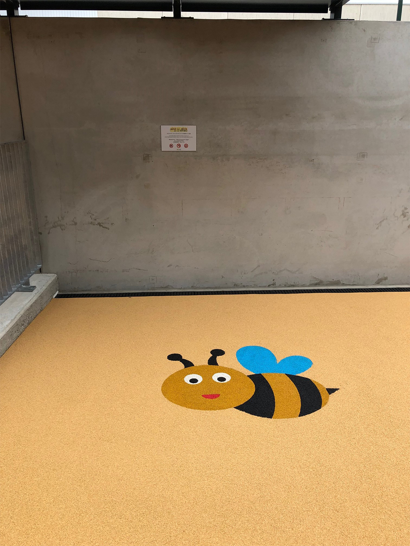 sol abeille