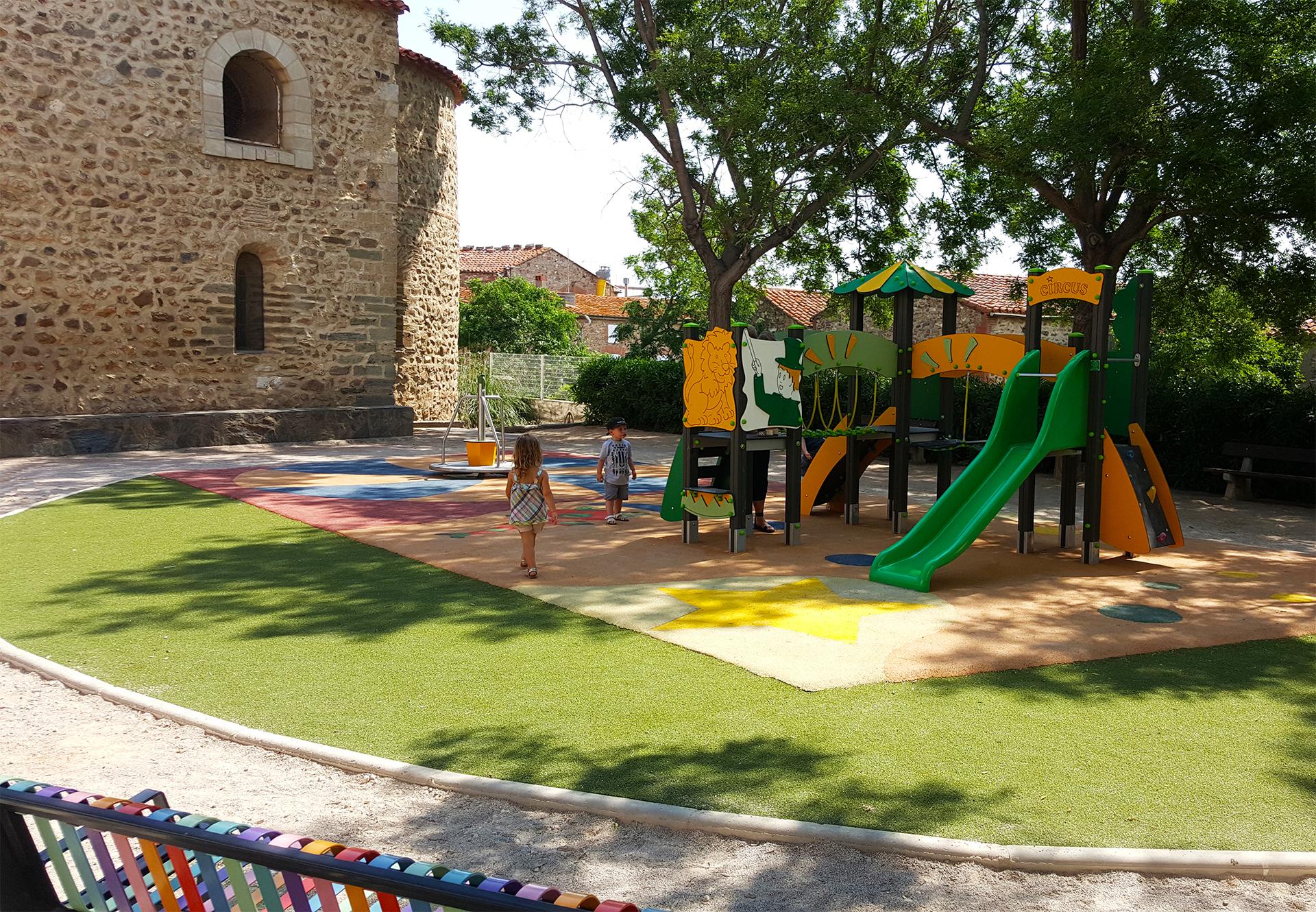 aire de jeux et des enfants